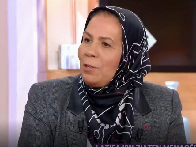 """Dans """"C à vous"""", Latifa Ibn Ziaten remercie les Français pour leur soutien"""