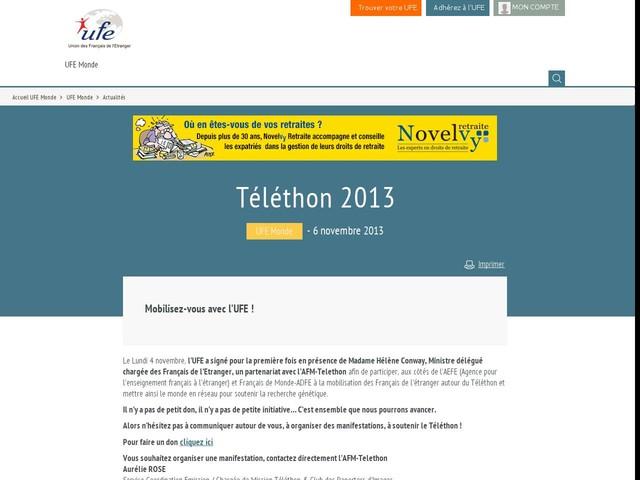 Téléthon 2013