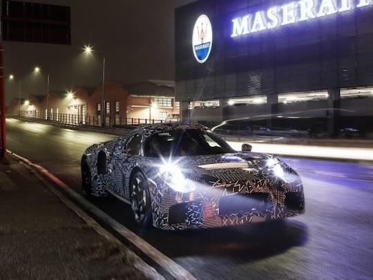 Maserati prépare une supercar à moteur V8