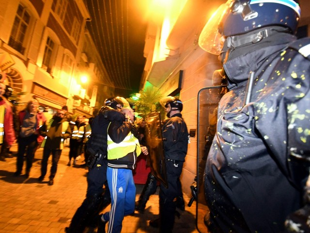 Tarbes. Trois individus interpellés en marge de la manifestation des Gilets jaunes samedi soir