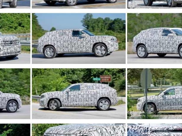 Le VW Atlas Cross Sport en approche