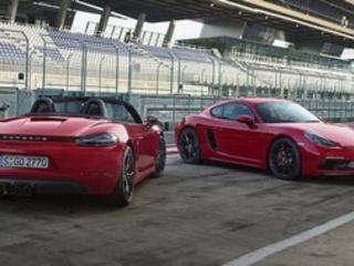 Deux nouvelles sportives, les Porche 718 Boxster GTS et 718 Cayman GTS
