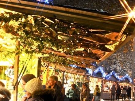 Marché de Noël à Lyon