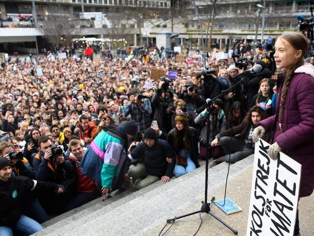 """Greta Thunberg à Davos, le meilleur endroit pour prôner le """"désinvestissement"""""""