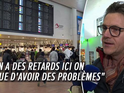 Grève du zèle de la police de l'aéroport de Bruxelles: quels seront les points de blocage durant les vacances?