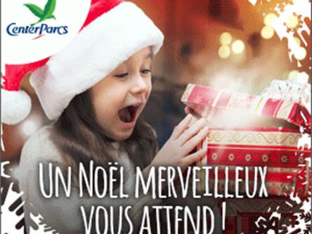 PROMO CENTER PARCS : Vacances de Noël & Jour de l'An jusqu'à -30%