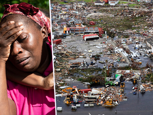 """Démunis, les habitants des Bahamas victimes de Dorian, ouragan mortel """"très erratique, très lent, très puissant"""""""