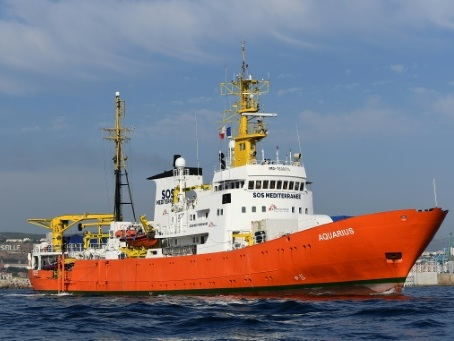 La justice italienne demande la mise sous séquestre à Marseille de l'Aquarius