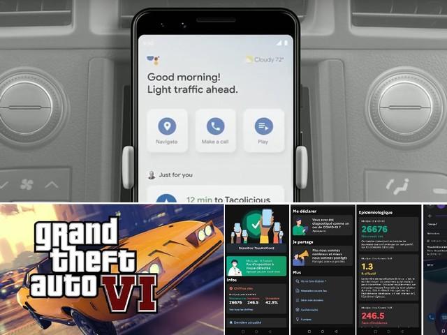 Le mode conduite de Google Assistant, la carte de GTA 6 et l'arrivée de TousAntiCovid, le récap de la semaine