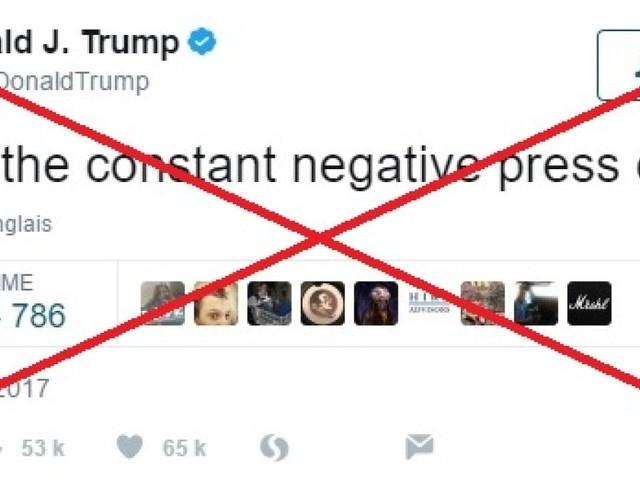"""Trump a supprimé son """"covfefe"""" mais en avait-il le droit?"""