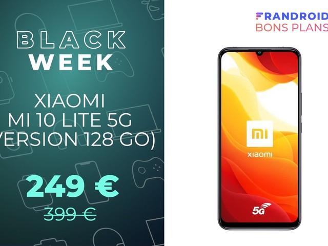 Le Xiaomi Mi 10 Lite compatible 5G passe de 399 à seulement 249 euros