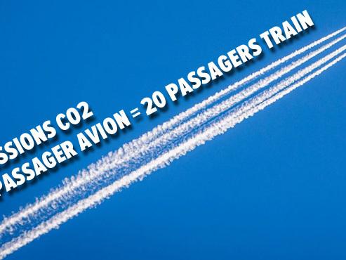 Réchauffement climatique: le nombre d'avions devrait DOUBLER d'ici 20 ans