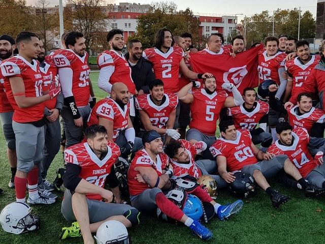 """Découvrez les """"Carthage Eagles"""", l'équipe tunisienne de football américain"""