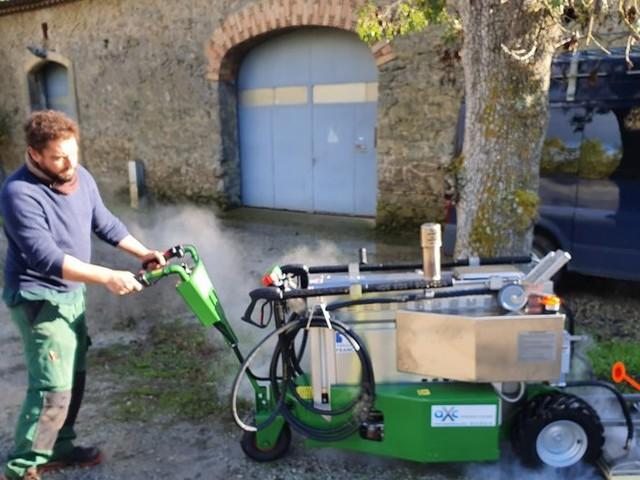 Villegailhenc : Christophe, jardinier paysagiste local, à la pointe de l'écologie