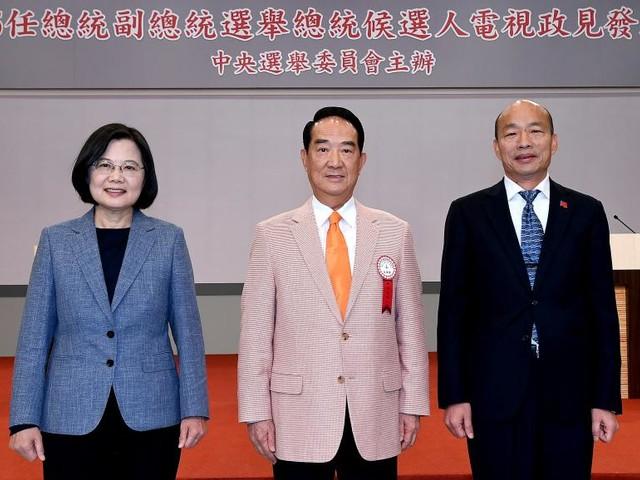 Présidentielle à Taïwan: le grand débat télévisé entre les trois candidats