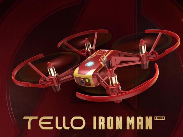 -25% sur le drone DJI Ryze Tello en série limitée Iron Man, la bonne idée cadeau pour Noël