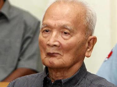 Mort de Nuon Chea,idéologue des Khmers rouges et adjoint de Pol Pot
