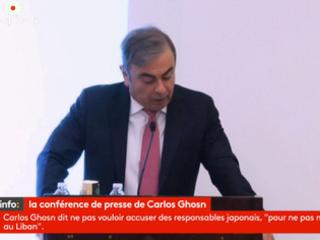 Le débrief de la conférence de presse de Carlos Ghosn