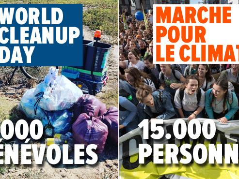 """Philippe sermonne les étudiants PRÉSENTS à la Marche pour le climat mais ABSENTS pour nettoyer la Belgique: """"Pour sécher, ils sont là!"""""""