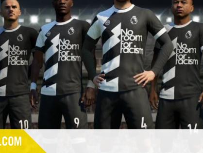 Un maillot contre le racisme dans FIFA 20