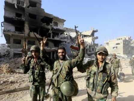 Le régime syrien contrôle totalement Damas et sa région après avoir chassé l'EI