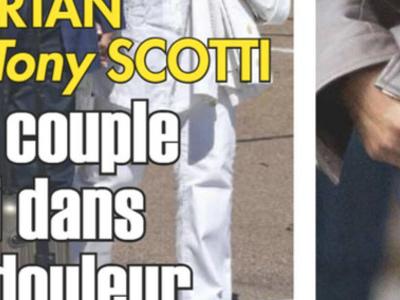 Sylvie Vartan et Tony Scotti, un couple uni dans la douleur (photo)