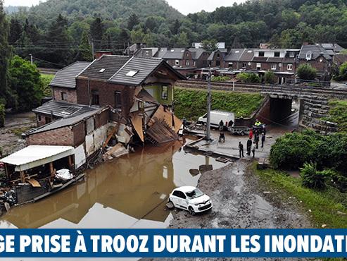 Jean-Guy, un sinistré, est en colère contre son assurance: il déclare 26.000 euros de dégâts, il en recevra beaucoup moins