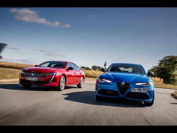 Match : Peugeot 508 (2019) vs Alfa Romeo Giulia