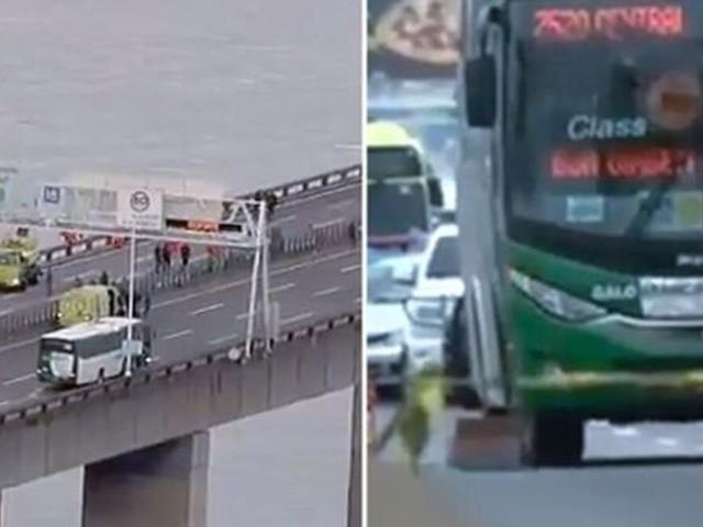 Le preneur d'otage d'un bus à Rio de Janeiro abattu par la police