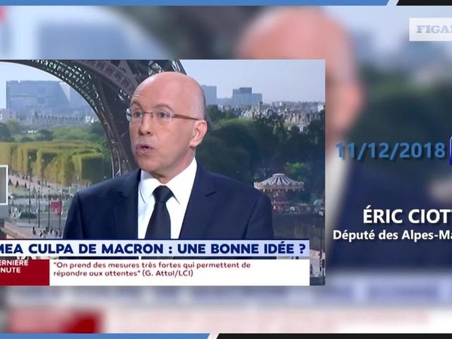 Éric Ciotti : «Emmanuel Macron est le pire président de la Ve république»