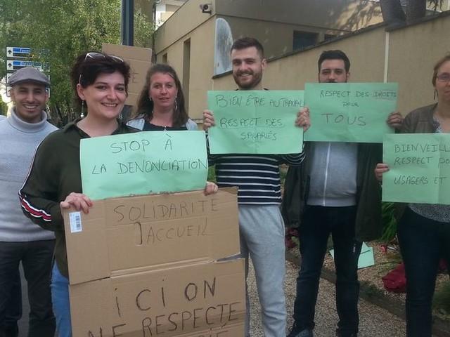 Châteauroux : une partie des salariés de l'association Solidarité Accueil en grève ce mardi