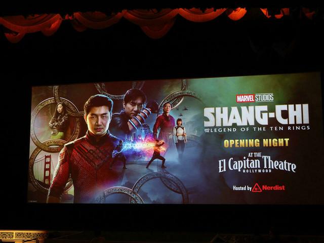 """""""Shang-Chi"""", le nouveau super-héros Marvel, renverse le box-office nord-américain"""