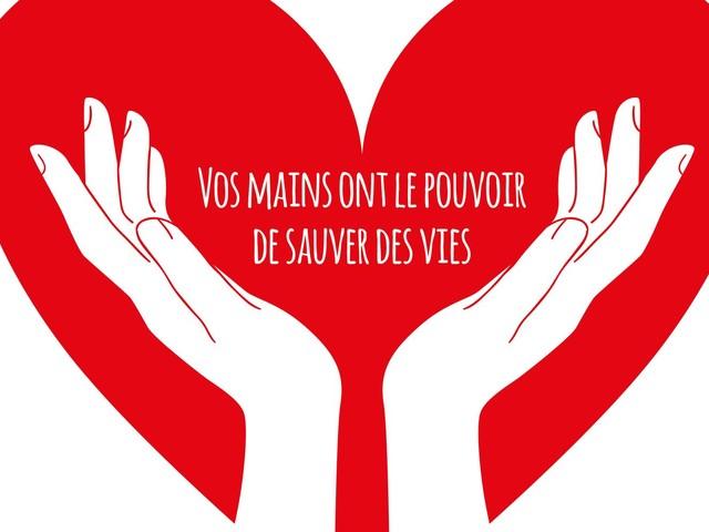 Vos mains comme les miennes ont un super pouvoir: sauver des vies - BLOG