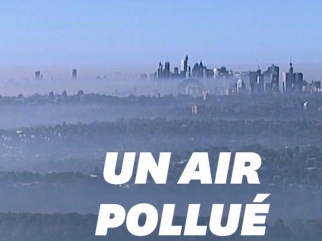 """La pollution à Sydney, après un brouillard toxique, atteint un niveau """"dangereux"""""""