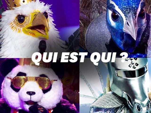 Mask Singer: qui sont la Licorne, l'Aigle, le Panda et le Paon?
