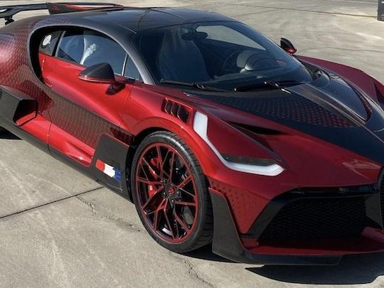 Voilà ce que ça fait de recevoir sa Bugatti à 5 millions d'euros