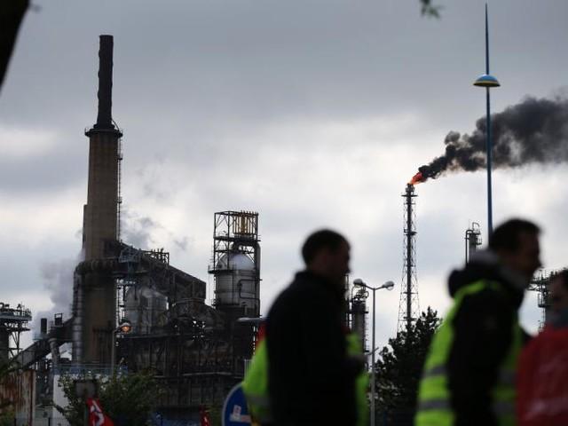 Incident à la raffinerie ExxonMobil en Seine-Maritime