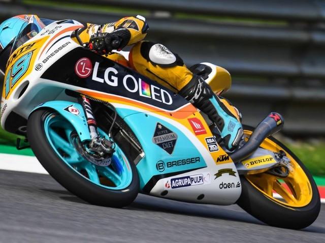 Moto3 : 2e pole pour Rodrigo en Autriche