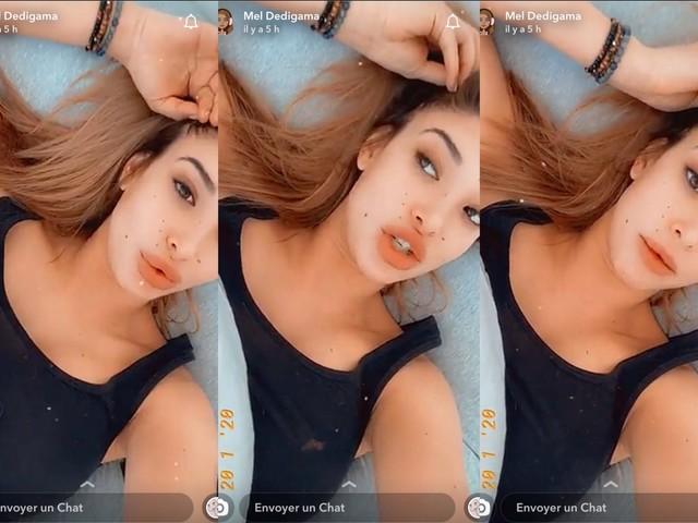 Mélanie Dedigama : Enceinte, elle pousse un gros coup de gueule sur Snapchat