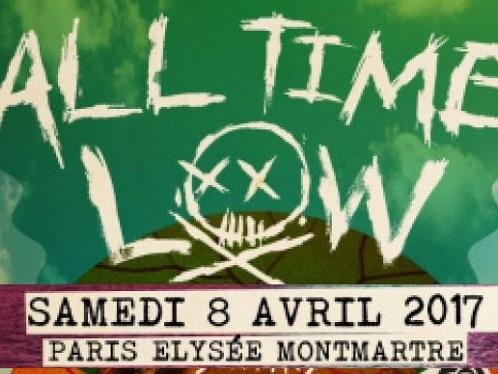 Live Report : All Time Low + SWMRS @ Elysée Montmartre, Paris - 08/04/17