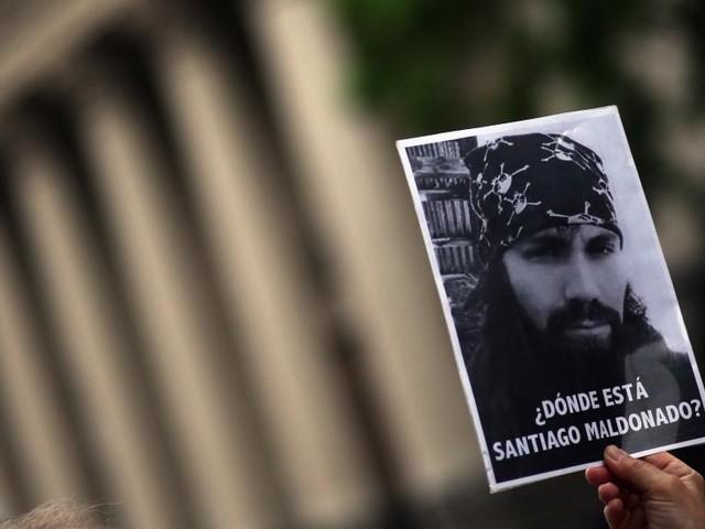 Argentine: le corps retrouvé est bien celui de l'activiste Santiago Maldonado