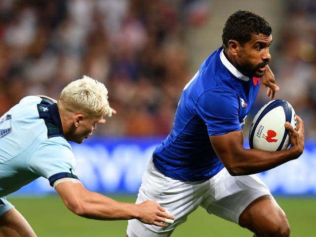 XV de France: Fofana forfait pour la suite de la Coupe du monde, remplacé par Barassi