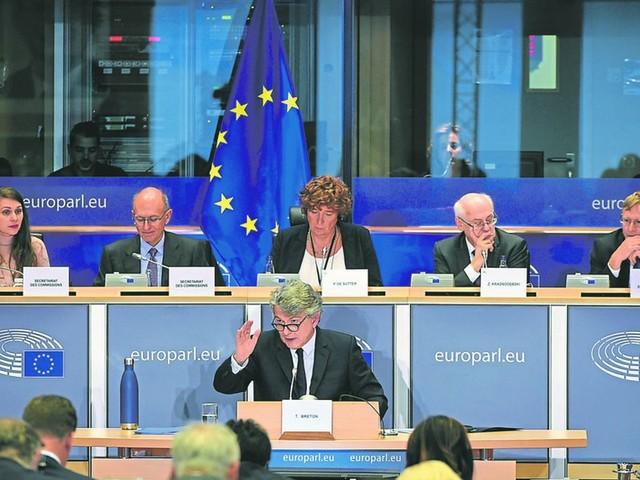 Le Parlement européen accepte la candidature de Thierry Breton