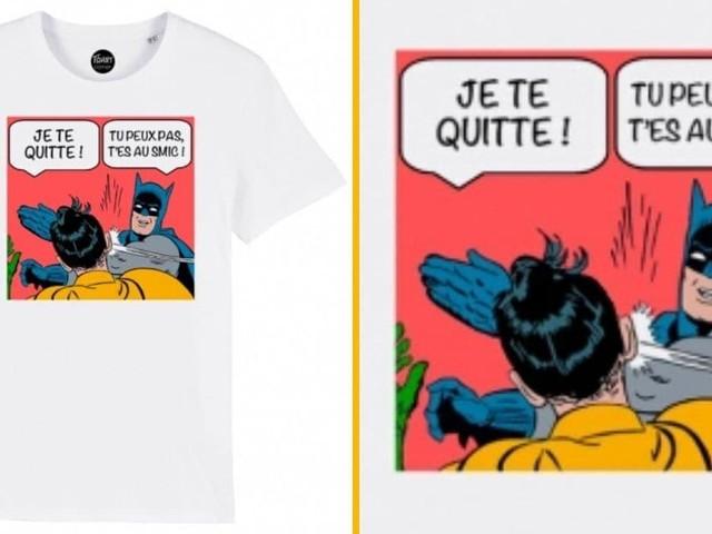 [TOPITRUC] Un t-shirt sur le divorce de Batman et Robin