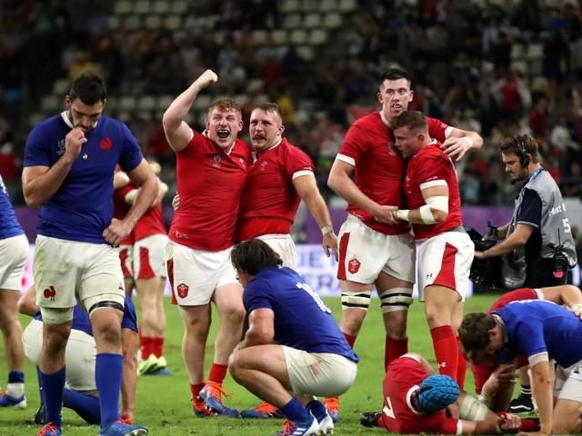 Mondial de rugby: la France battue d'un point par le Pays de Galles