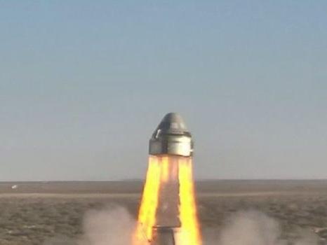 VIDÉO. Un parachute ne s'ouvre pas lors du test de la capsule spatiale de Boeing