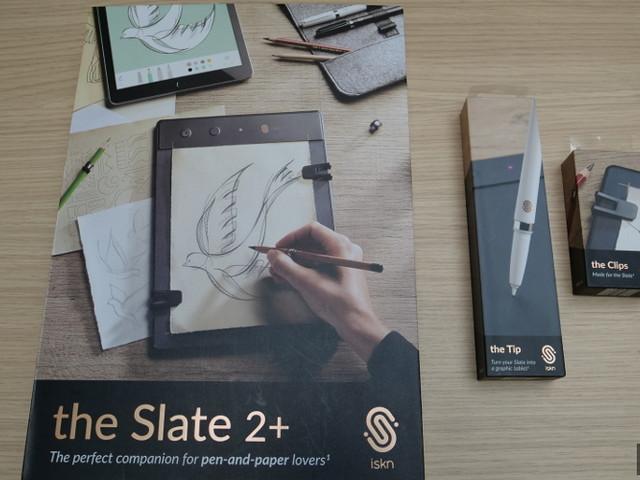 Dossier - Prise en main de la tablette graphique Slate 2+ d'ISKN