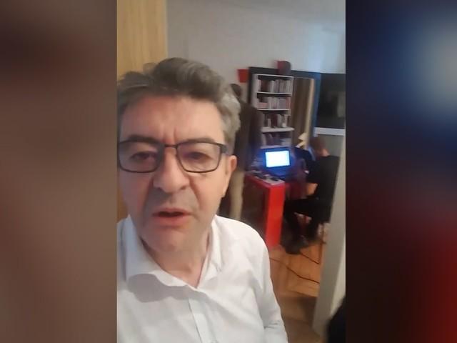 Jean-Luc Mélenchon condamné à trois mois avec sursis, après la perquisition au siège de LFI