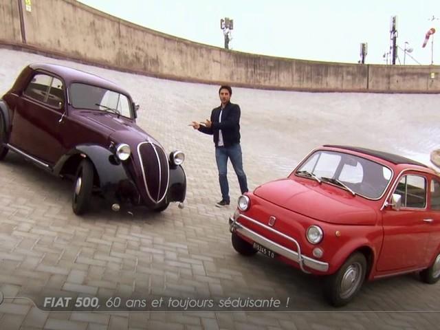 Fiat 500, 60 ans et toujours séduisante - Emission TURBO du 10/12/2017