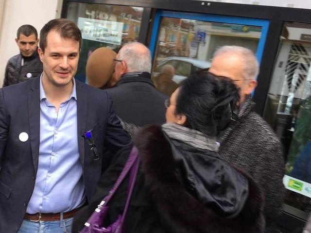 Municipales à Mont-de-Marsan : Jean-Baptiste Savary (PS) inaugure son local de campagne